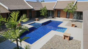 ID: HR216 Pool Villa surrounded by a refreshingly natural atmosphere